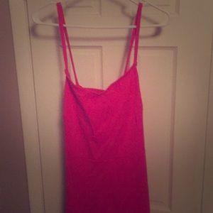 Old Navy hot pink razor back summer dress!